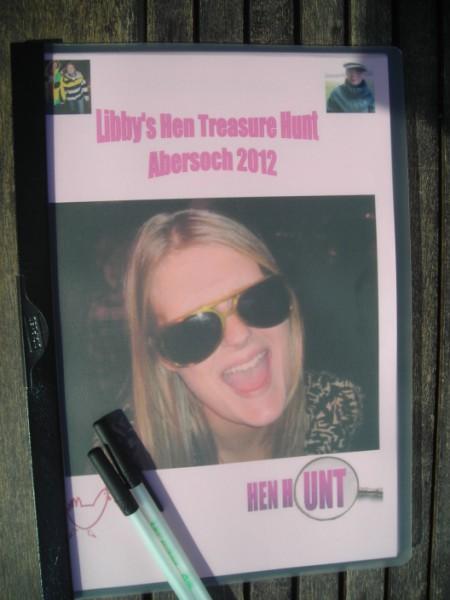 DIY treasure hunts personalised hen package from henhunt