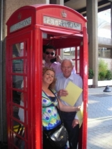 50th Birthday party photo challenge phone box